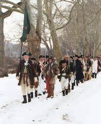 Soldiers marching to Mcconkey's Ferry