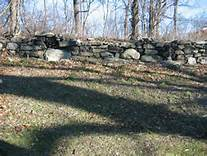 stone wall at Pell's Point
